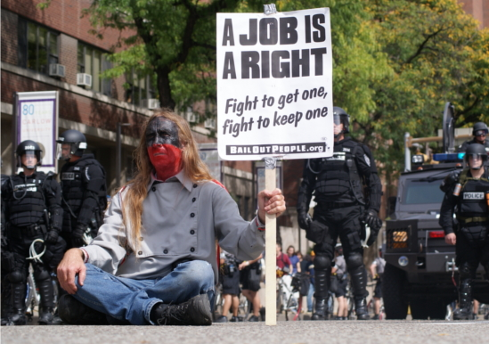 A job is a right!